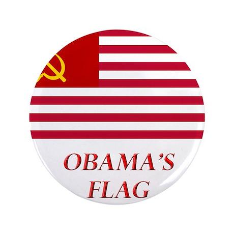 "Obama's New Flag 3.5"" Button"