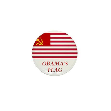 Obama's New Flag Mini Button