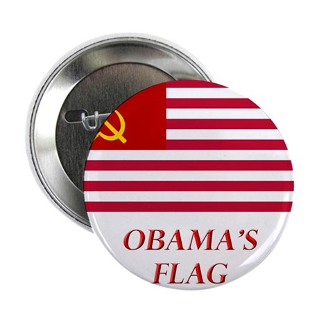"""Obama's New Flag 2.25"""" Button (100 pack)"""