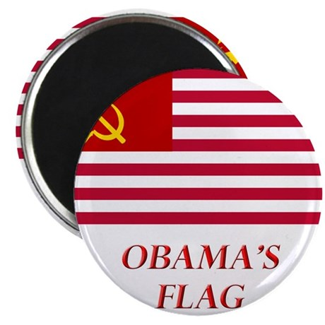 Obama's New Flag Magnet