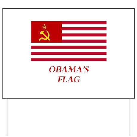 Obama's New Flag Yard Sign