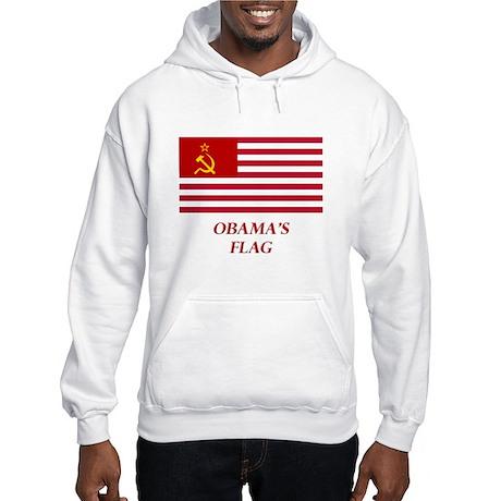Obama's New Flag Hooded Sweatshirt