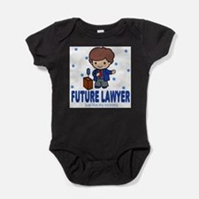 Future Lawyer like Mommy Baby Body Suit