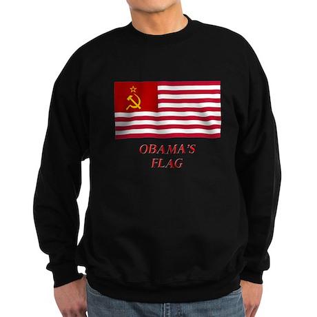 Obama's New Flag Sweatshirt (dark)