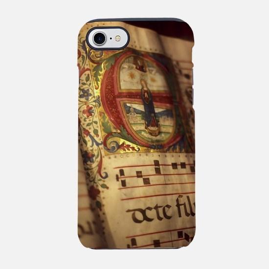 Medieval Manuscript iPhone 7 Tough Case
