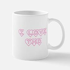 I Love TKD Mug