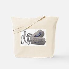 Grandson Dog Tags Tote Bag