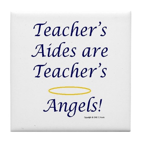 """Angels"" Tile Coaster"