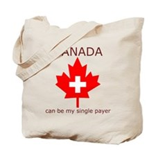 Canada Single Payer Tote Bag