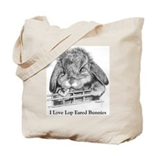 Lop Eared Bunny Tote Bag