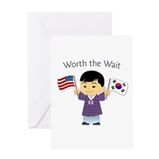 Worth the Wait ~ Korea Greeting Card