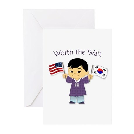 Worth the Wait ~ Korea Greeting Cards (Pk of 10)
