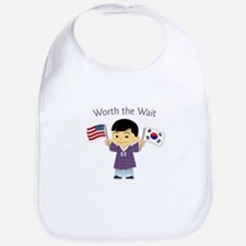 Worth the Wait ~ Korea Bib