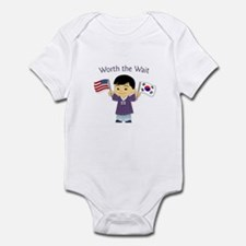 Worth the Wait ~ Korea Infant Bodysuit
