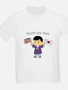 Worth the Wait ~ Korea T-Shirt