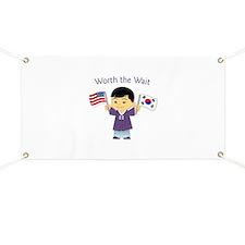 Worth the Wait ~ Korea Banner