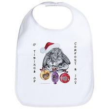 Lop Rabbit Christmas Bib