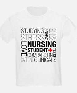 Nursing Student Box T-Shirt