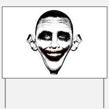 Obama Joker Yard Sign