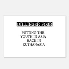 Dillinger Four Postcards (Package of 8)