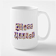 Glass Addict Large Mug