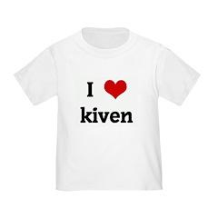I Love kiven T