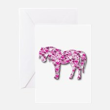 HEARTHORSE - Pink Greeting Card