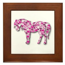HEARTHORSE - Pink Framed Tile