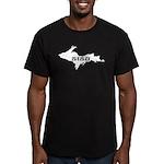 SISU - Michigan's Upper Penin Men's Fitted T-Shirt