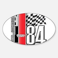 Mustang 1984 Oval Sticker (10 pk)