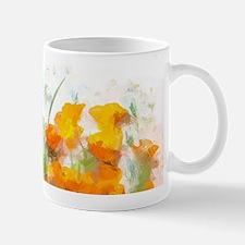 Sunrise Poppies II Mugs