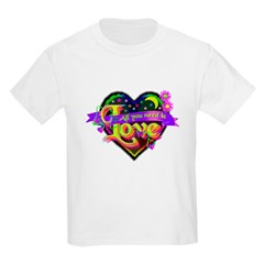 All You Need is Love Kids Light T-Shirt