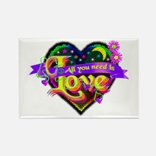 All You Need is Love Rectangle Magnet