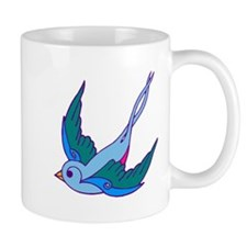 tattoo birds Mug