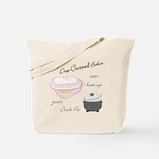 Funny Black chef Tote Bag