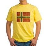 Vintage Norway Yellow T-Shirt