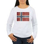 Vintage Norway Women's Long Sleeve T-Shirt