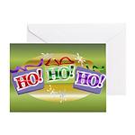 Ho3 Greeting Card