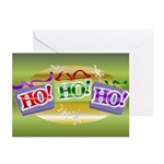 Ho3 Greeting Cards (Pk of 10)