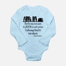 Book Lover Quote Body Suit