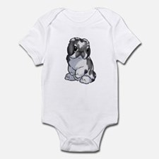 Bkn Black Holland Infant Bodysuit