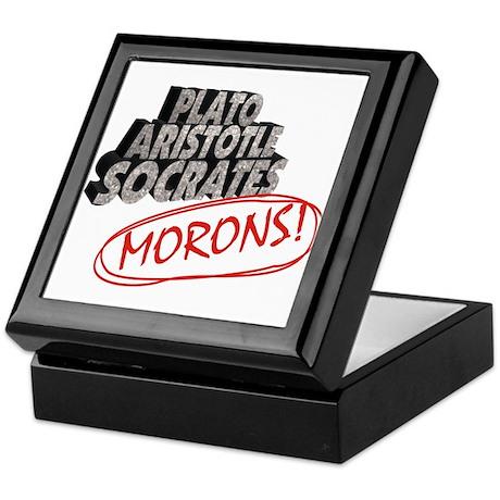 Morons Keepsake Box