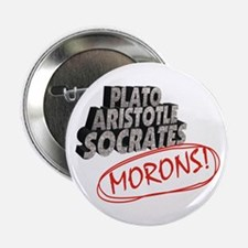 "Morons 2.25"" Button"