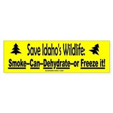 Save Idaho's Wildlife (Bumper)