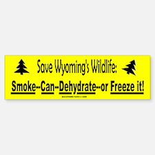 Save Wyoming's Wildlife (Bumper)