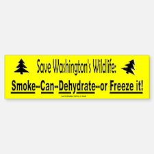 Save Washington's Wildlife (Bumper)