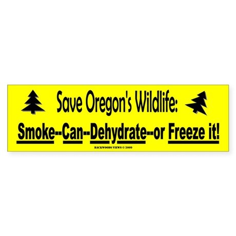 Save Oregon's Wildlife (Bumper)