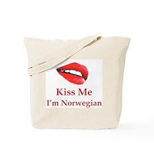 Kiss Norwegian Tote Bag