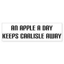 """""""An Apple a Day"""" Bumper Bumper Sticker"""