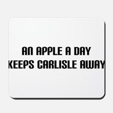 """An Apple a Day"" Mousepad"